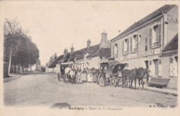 AUBIGNY SUR NERE - CHER- (16) - CPA BIEN ANIMÉE 1907. - Aubigny Sur Nere