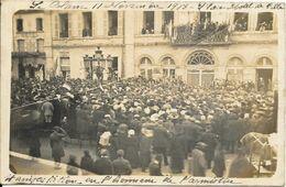 Le Blanc - Carte Photo - Manifestation En L`honneur De L`armistice   - B Etat - Le Blanc