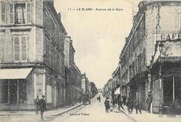 Le Blanc - Avenue De La Gare   - B Etat - Le Blanc