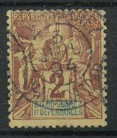 Diégo-Suarez (1892) N 26 (o) - Used Stamps