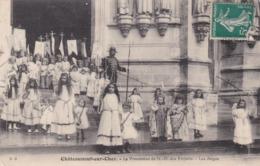 CHÂTEAUNEUF SUR CHER - CHER- (16) - CPA BIEN ANIMÉE 1912. - Chateauneuf Sur Cher