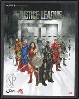 Portugal 2020 Emissão Especial Justice League DC Comics Films Batman Wonder Woman Superman Aquaman Cyborg Belgian Post - Cinema