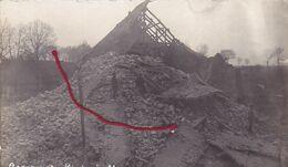 ( 62 ) - Mory Gesprengte Kirche Carte  Photo Allemande 1° Guerre - Frankreich