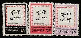 PHILIPPINES - N°1257/9 ** (1981) Croix-Rouge - Filipinas