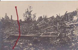 ( 62 ) - Plouvain Dorf   Carte  Photo Allemande 1° Guerre - Frankreich