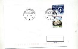 Lettre Cachet Danmarkshavn   Date 01/01/2000 - Lettres & Documents