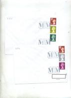 Lettre Cachet Londres Grennwich  Date 31/12/1999 Et 01/01/2000 - Marcophilie - EMA (Empreintes Machines)