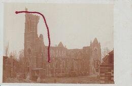 ( 62 ) -  Laventie Kirche.  Carte  Photo Allemande 1° Guerre - Frankreich