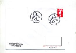 Lettre Cachet Montbeliard Rattachement à France - Cachets Commémoratifs