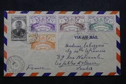 GUADELOUPE - Enveloppe De Pointe à Pitre En 1947 Pour La France, Affranchissement Varié - L 69696 - Lettres & Documents