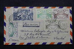 GUADELOUPE - Enveloppe De Pointe à Pitre En 1947 Pour La France, Affranchissement Varié - L 69697 - Lettres & Documents