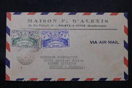 GUADELOUPE - Enveloppe Commerciale De Pointe à Pitre En 1947 Pour Les Etats Unis - L 69698 - Lettres & Documents