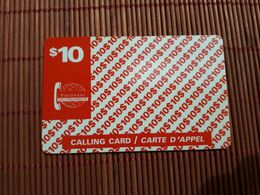 Prepaidcard Canada 10 $ Used 2 Scans Rare - Canada