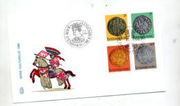Lettre Fdc 1980 Monnaie - FDC