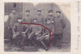 ( 62 ) - Croisilles Gruppe Carte  Photo Allemande 1° Guerre - Frankreich