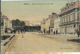 EURE  : Gaillon , Entrée Principale De La Ville, Carte Couleur Toilée... - Andere Gemeenten