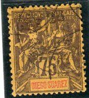DIEGO SUAREZ -année 1892 YT N° 49 Oblitéré - Used Stamps
