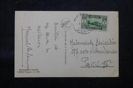 LIBAN - Affranchissement De Beyrouth Sur Carte Postale En 1934 Pour La France - L 69703 - Lettres & Documents