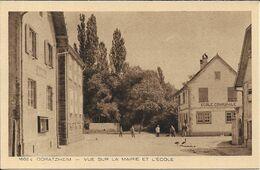 ODRATZHEIM Vue Sur La Mairie Et L' école - Andere Gemeenten