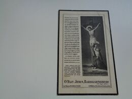 Doodsprentje ( 2708 )  Vercauteren  /  Van Landeghem      -  Elversele  Temse    1926 - Todesanzeige