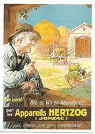 CPM - CENTENAIRE Editions - MATERIEL AGRICOLE - 85 - Appareils HERZOG - JONZAC - Jonzac
