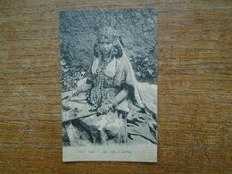 """Carte Assez Rare De 1908 , Algérie , Femme D'ouled Naïls """" Carte écrite Par Un Militaire """" - Vrouwen"""