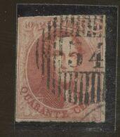 40c    12  Ø 54  Belle Nuance - 1858-1862 Medallions (9/12)