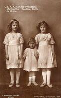 Les Princesses Margaretha,Theodora,Cecile De Grece - Königshäuser