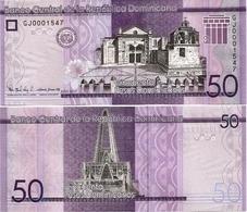 DOMINICAN REP.       50 Pesos Dominicanos      P-New       2017      UNC - República Dominicana