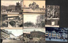 59 - Lille - Lot 19 Cartes (animée, Colorisée, Tram Tramway, ...) - Lille