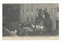 Gisors Institution Jeanne D'Arc Bénédiction Statue  1909 - Gisors
