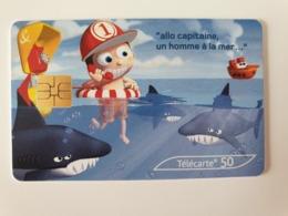 France - 50 Unités - Allo Capitaine à La Mer - 07/03 - 1 500 000 Ex - 2003