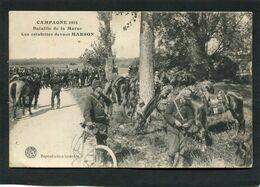 CPA - CAMPAGNE 1914 - Bataille De La Marne - Les Estafettes Devant MARSON, Très Animé - War 1914-18