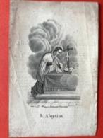 Image Pieuse Anno 1843 - LITHO Doodsprentje Décés - HAANRAADS Crommenie Nederland - 12.5 Cm X 8.5 Cm - Images Religieuses