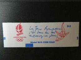 FRANCE Carnet N° 2614-C10 Type LIBERTE - CONF 9-2 -  2,30 Fr. Rouge - 10 Timbres ALBERTVILLE 92 - Uso Corrente
