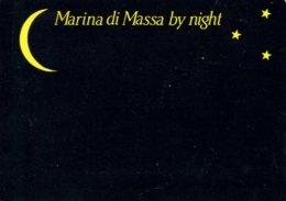 MARINA DI MASSA BY NIGHT - DI NOTTE - NOTTURNO - DE NUIT - LUNA E STELLE - MOON AND STARS - 1995 - Massa