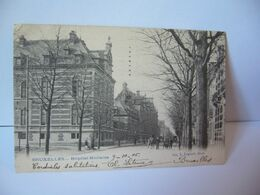 BRUXELLES HÔPITAL MILITAIRE  [bʁysɛl]Brussel [ˈbrʏsəl Brüssel  BELGIUM BELGIQUE CPA 1915 249. L. LAGAERT BRUX - Salute, Ospedali