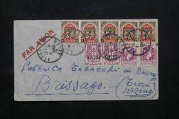 ALGÉRIE - Enveloppe De Alger Pour Une Fabrique De Tabac En Suisse  ( Brissago ) En 1848 - L 69744 - Storia Postale