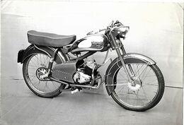 ANCIENNE PHOTO  Moto COCYMO - Automobiles