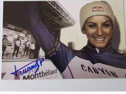 Pauline FERRAND - Signé / Dédicace Authentique / Autographe - Wielrennen