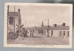 CP - 85 - Saint-Martin-de-Brem  -  Rue Principale - Francia