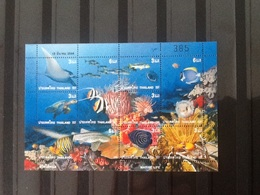 Thailand . Block Marine Life 2001 MNH. - Thailand