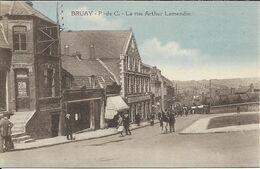 BRUAY La Rue Arthur Lamendin - Altri Comuni