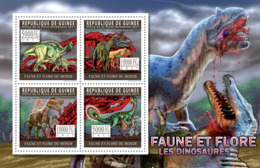 Guinea 2011 - Dinosaurs. Y&T 5602-5605, Mi 8299-8302 - Guinea (1958-...)