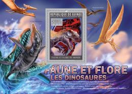 Guinea 2011 - Dinosaurs. Y&T 1233, Mi 8303/Bl.1941 - Guinea (1958-...)