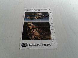 Colombia - Rare Magnetic Phonecard - Colombia