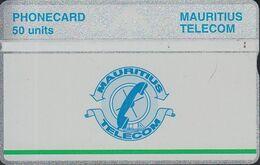 Mauritius L&G Mau 23c  Telecom's Logo - 50 Units Green Line Under Logo 605A - Maurice