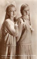 Prinzessin Alexandrine Und Prinzessin Cecilie Von Preußen - Königshäuser