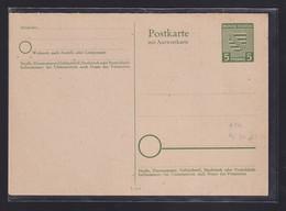 SBZ., Provinz Sachsen, Ganzsache Mi.-Nr. P 11 Ungebraucht. - Soviet Zone