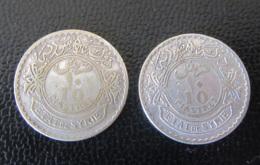 Syrie / Syria - 2 Monnaies 10 Piastres 1929 - Argent 680 - Siria